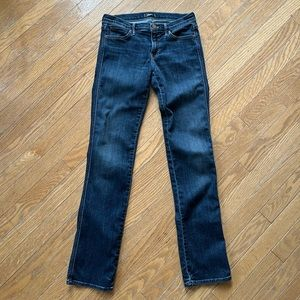 MOTHER The Rascal Here Kitty, Kitty Bootcut Jeans